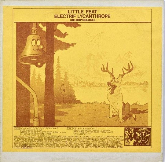 Little Feat – Electrif Lycanthrope (1976?)